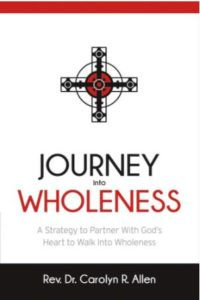 "Image of cover to ""Journey into Wholeness."""