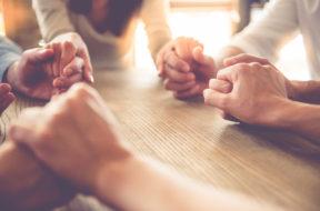 Prayer at table
