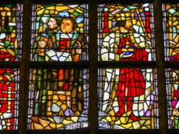 Martin Luthur Stained Glass New Cathedral Nieuwe Kerk Delft Netherlands