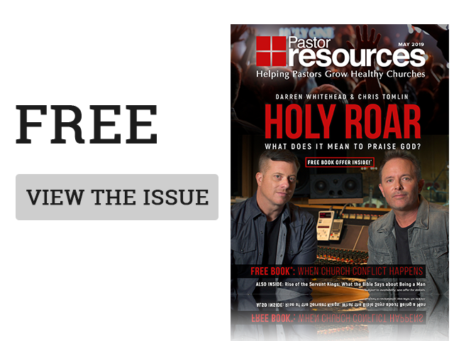 March 2018 cover of Pastor Resources Magazine