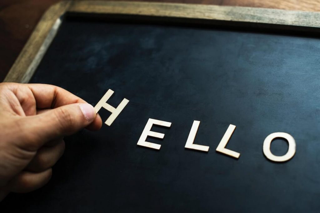 welcome well