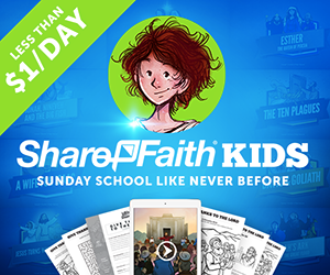 New Church Websites ShareFaith