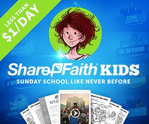 New Church Websites ShareFaith